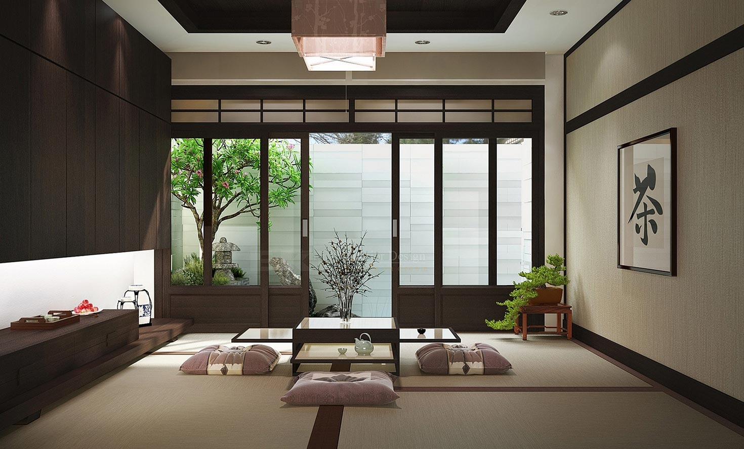 Asian Zen Interior Design