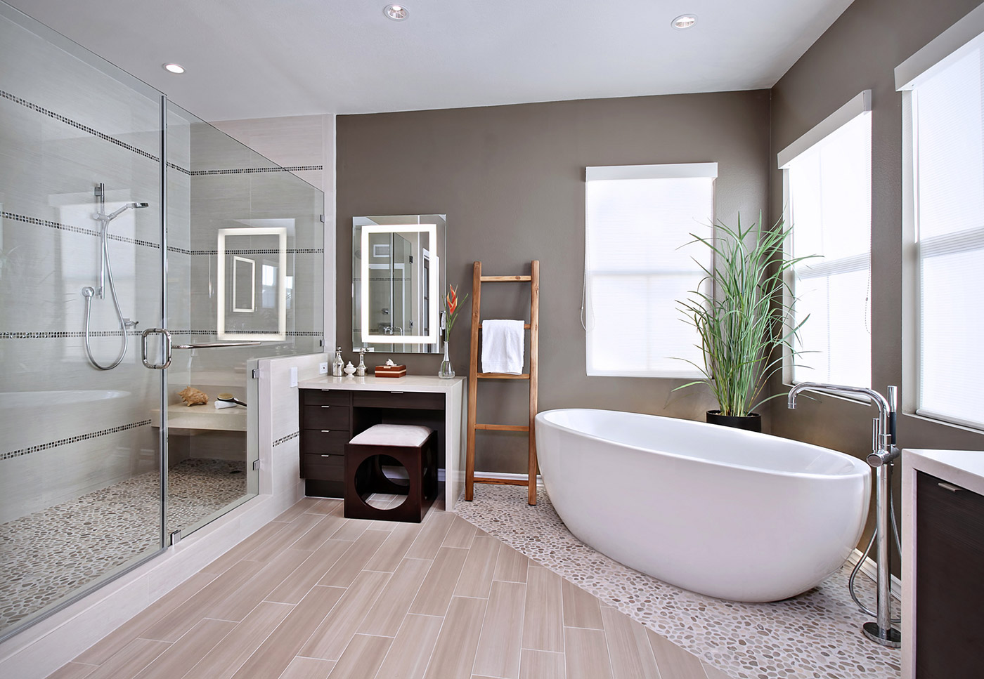 Bathroom essentials for timless interior