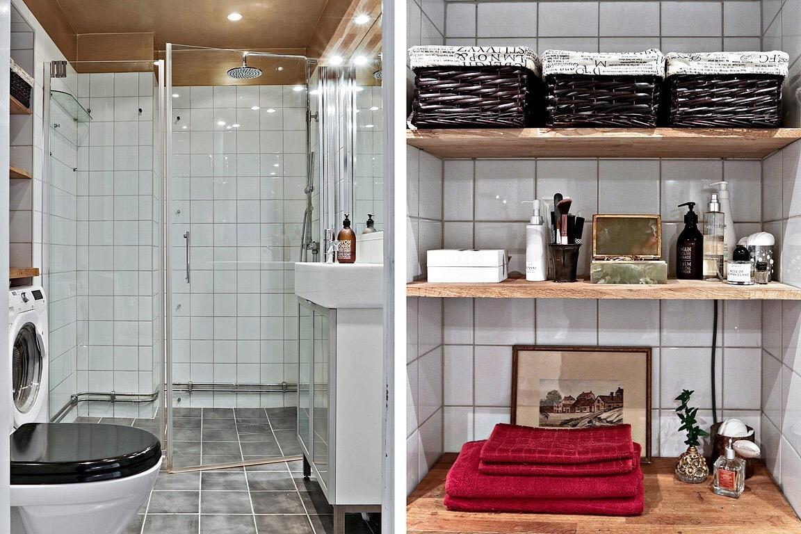 Scandinavian bathroom - WC