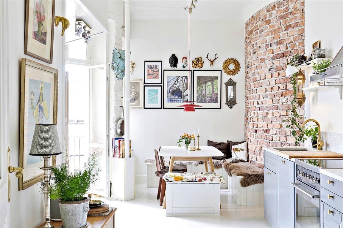an eclectic scandinavian home – adorable home