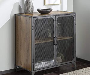 Industrial Style Accent Console