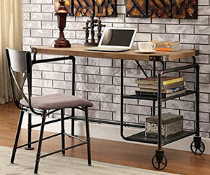 Industrial Style Office Desk