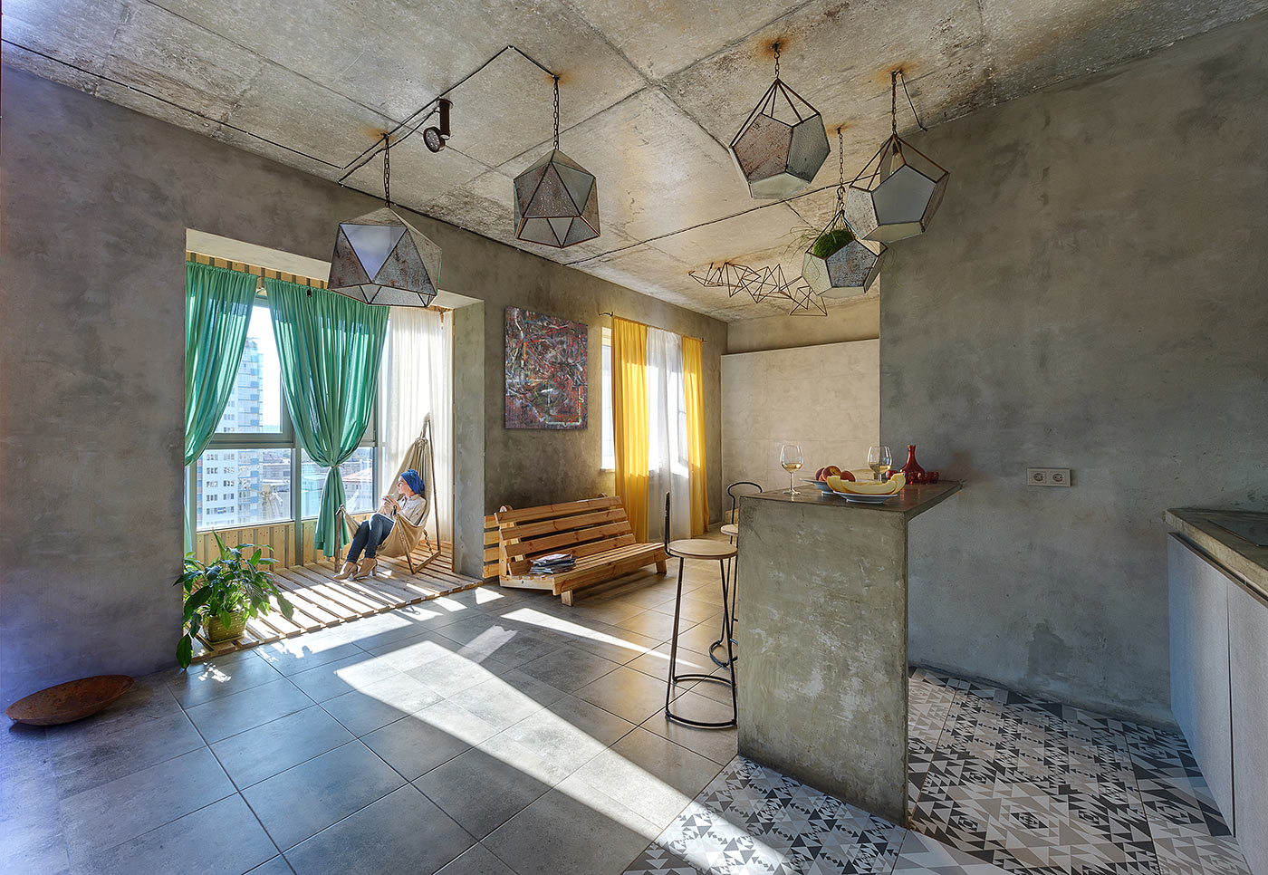 Mehr Khaneh - an industrial style loft