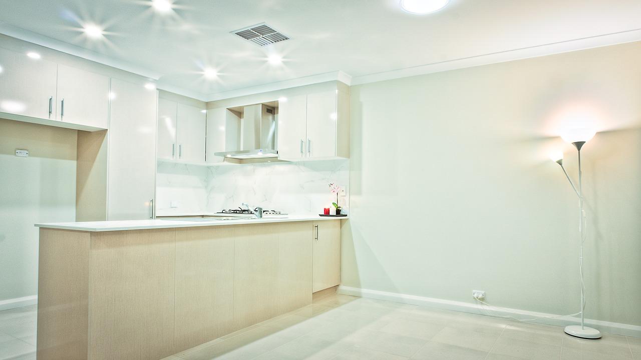 Furnishing a new kitchen