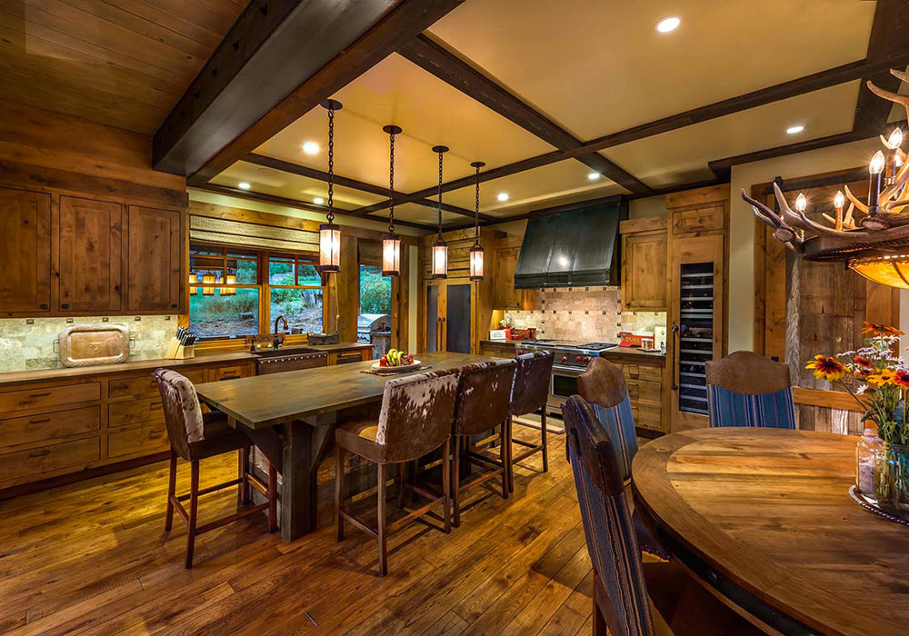 Popular Interior design styles-Typical Rustic style