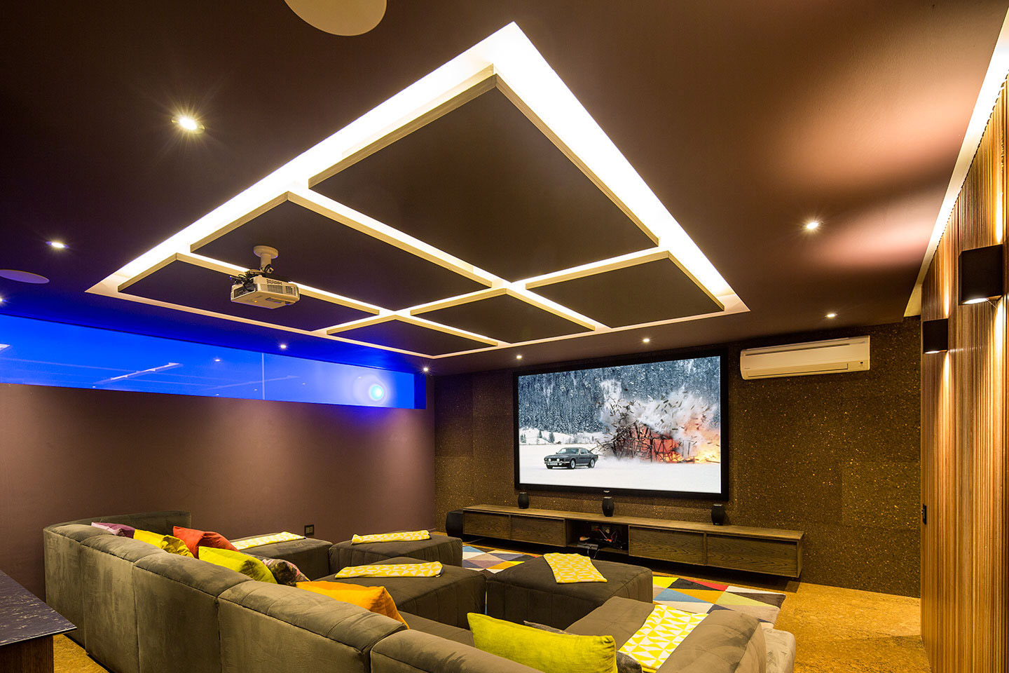 The Reserve-House-home cinema
