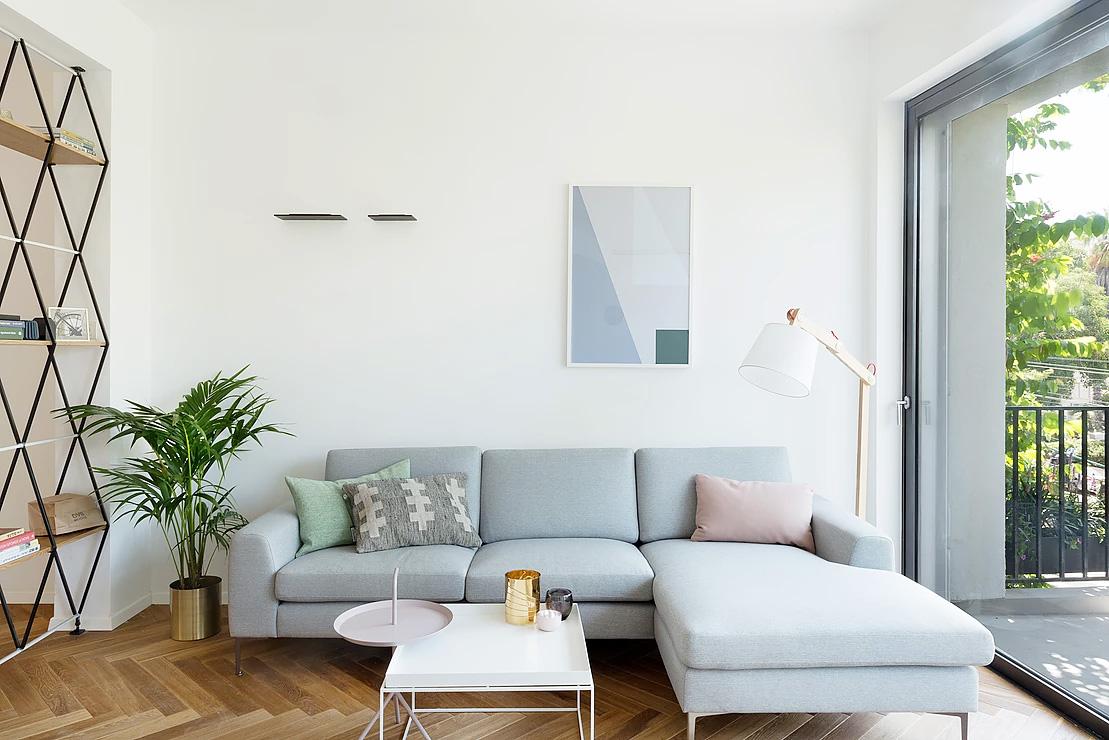 Urban apartment design-sitting-area