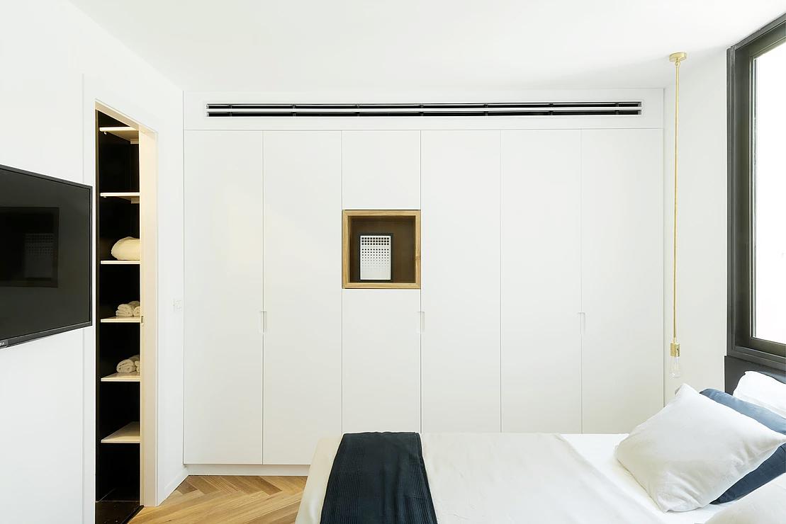 Urban apartment design-the bedroom