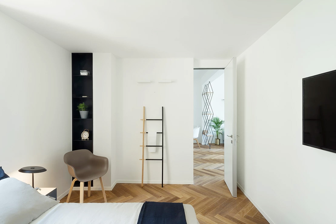 Urban apartment-the bedroom