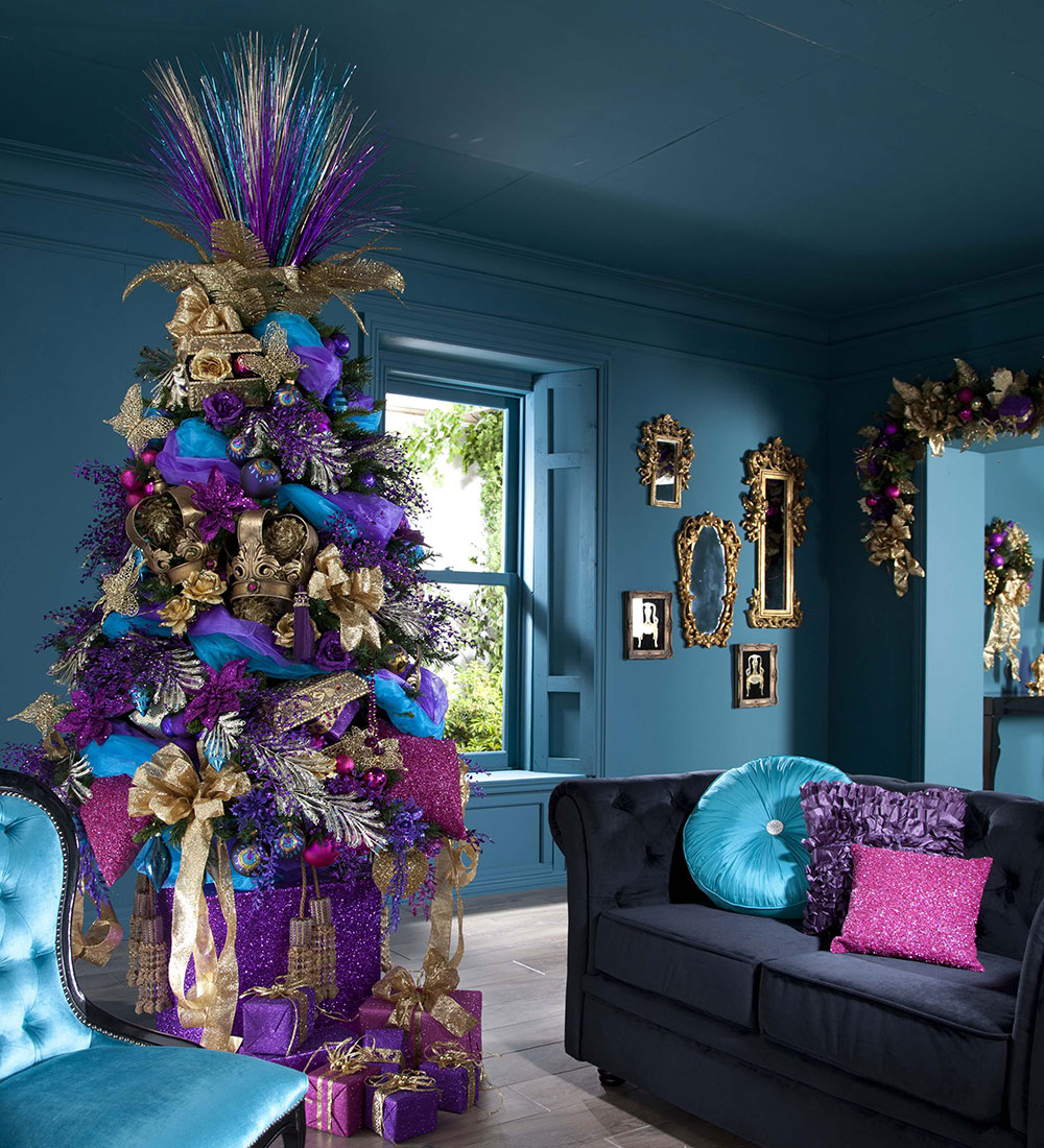 15 Christmas Color Schemes Beyond The Traditional Adorable Home