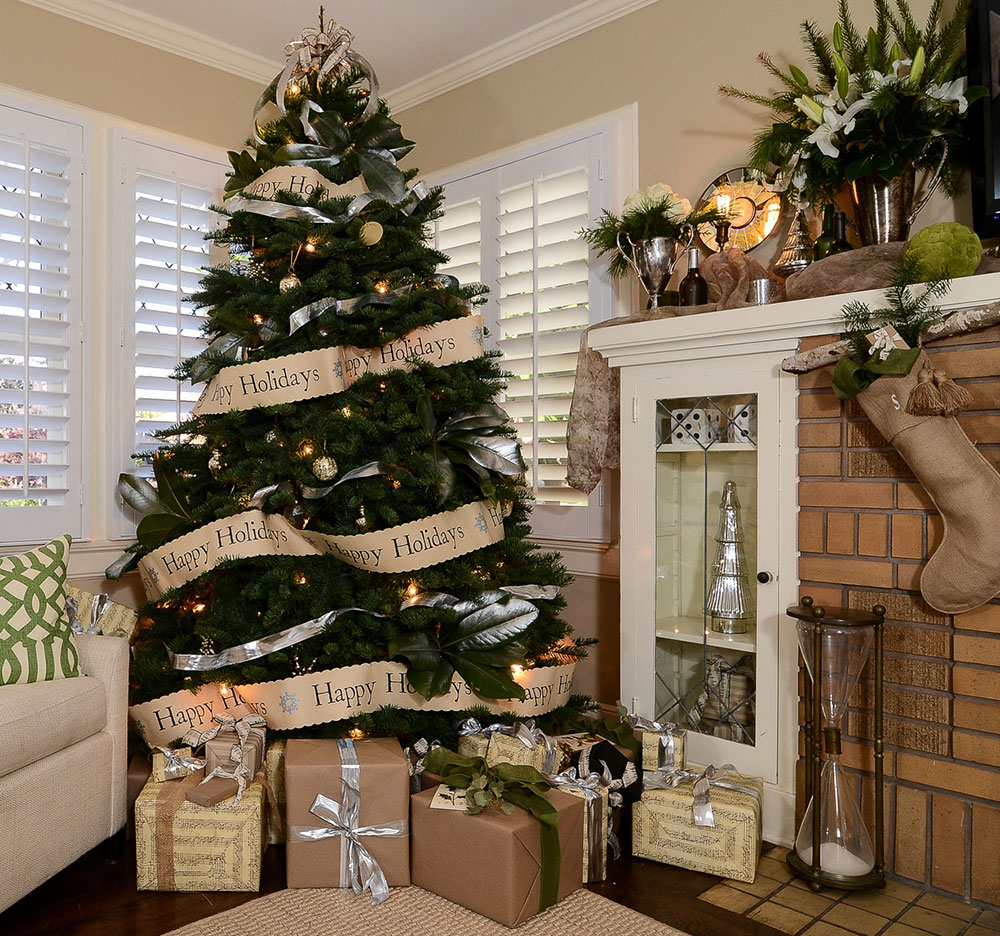 Color schemes for christmas trees - Green And Brown Christmas Color Scheme