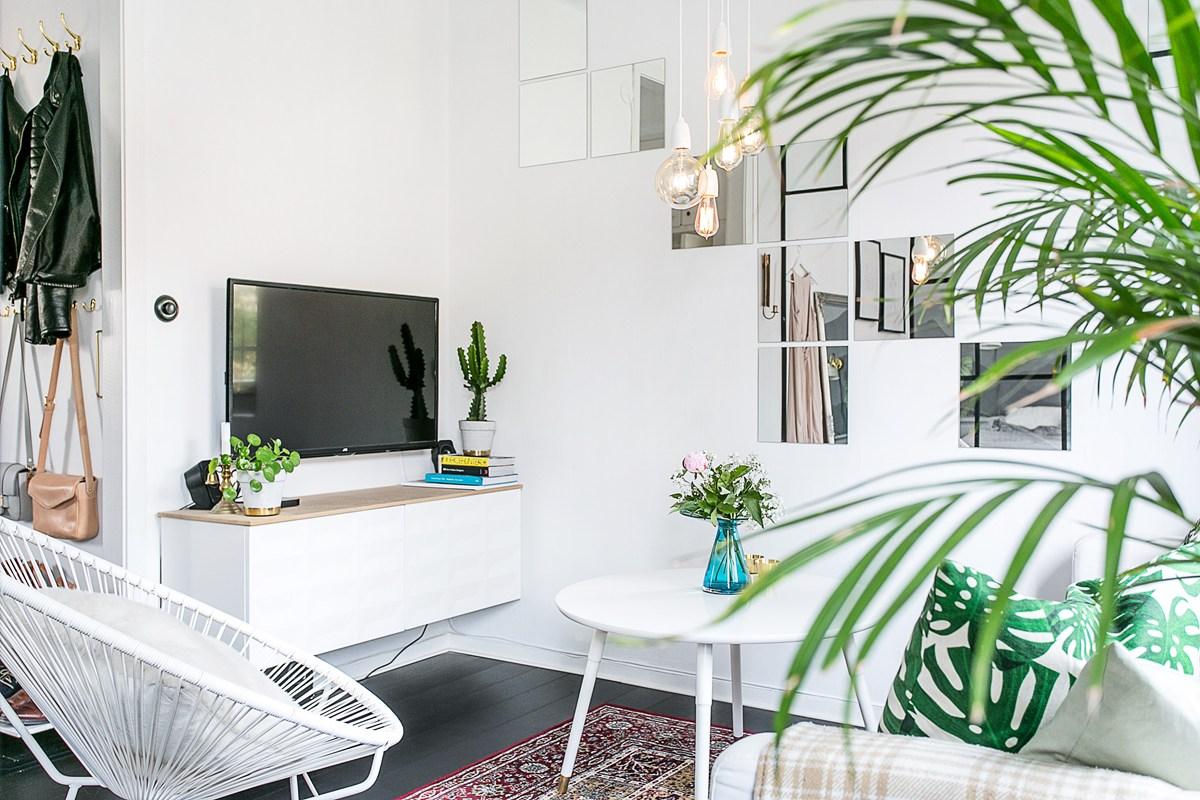 Tiny Scandinavian Living Room