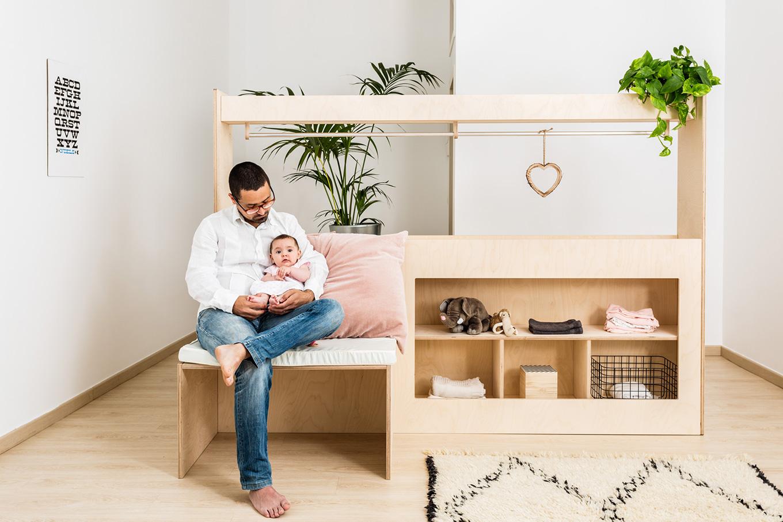 Adjustable children's furniture