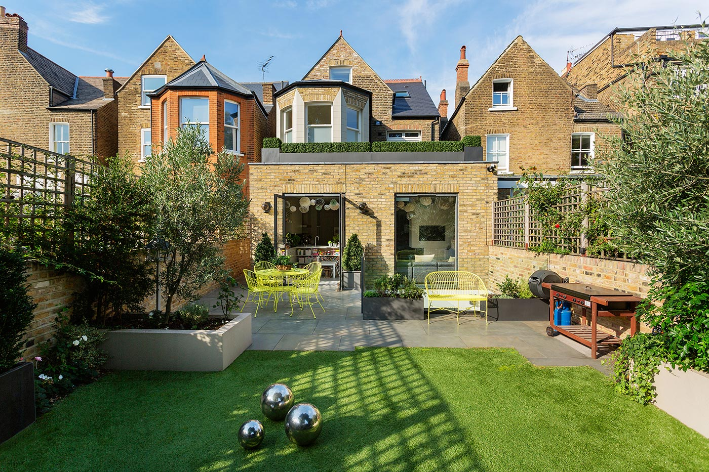Renocated period house in London