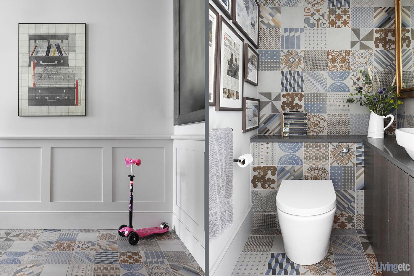 Eclectic tiles