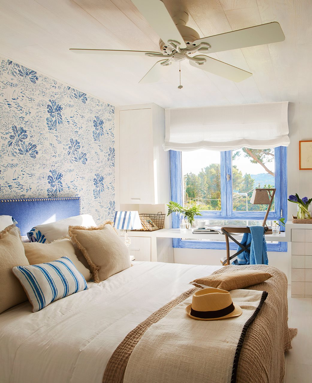 Beautiful coastal bedroom