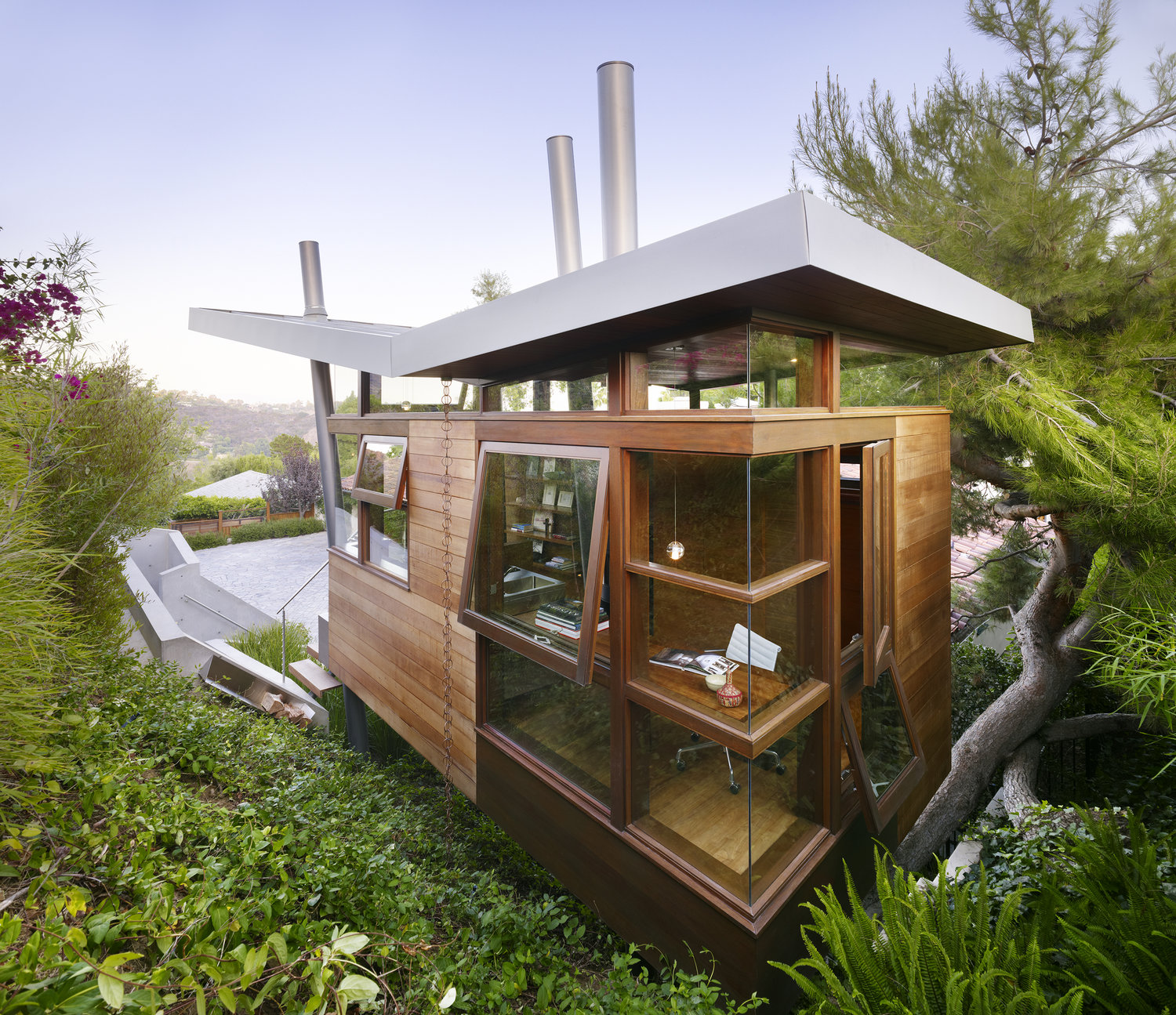 The Banyan Drive Treehouse - LA, Calivornia - architecture