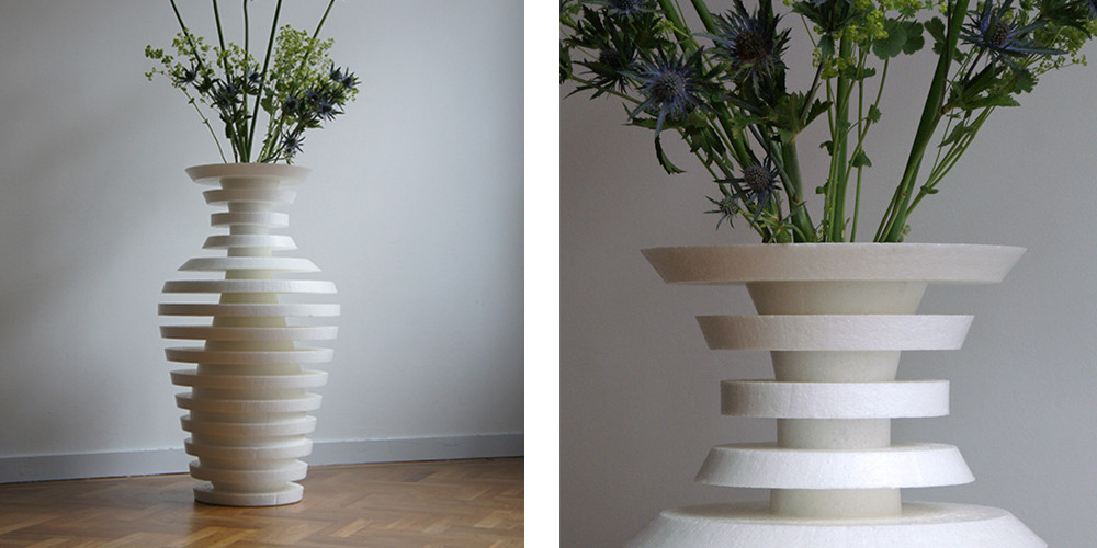 The Schizo 3D printed vase