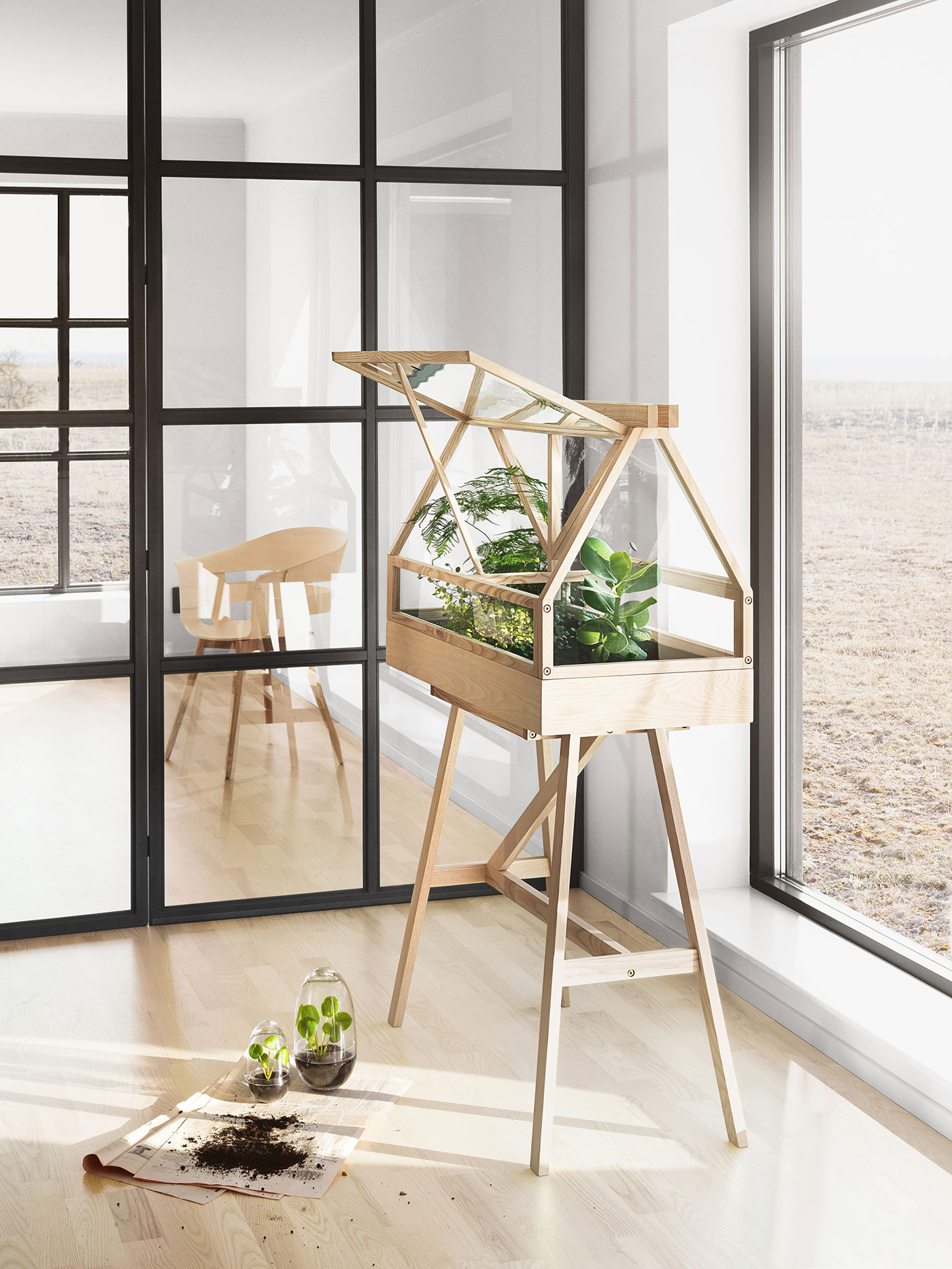 Decorative Greenhouse By Atelier 2 Adorable Home