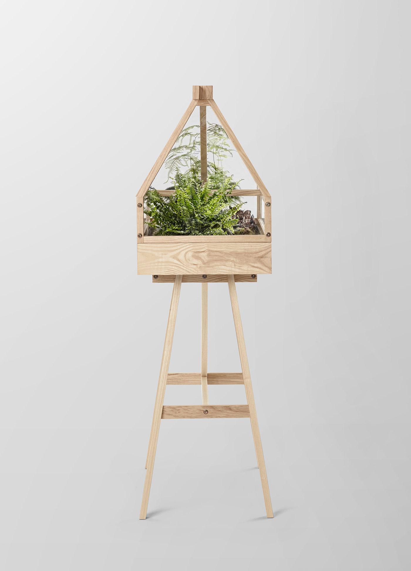 Modern indoor greenhouse