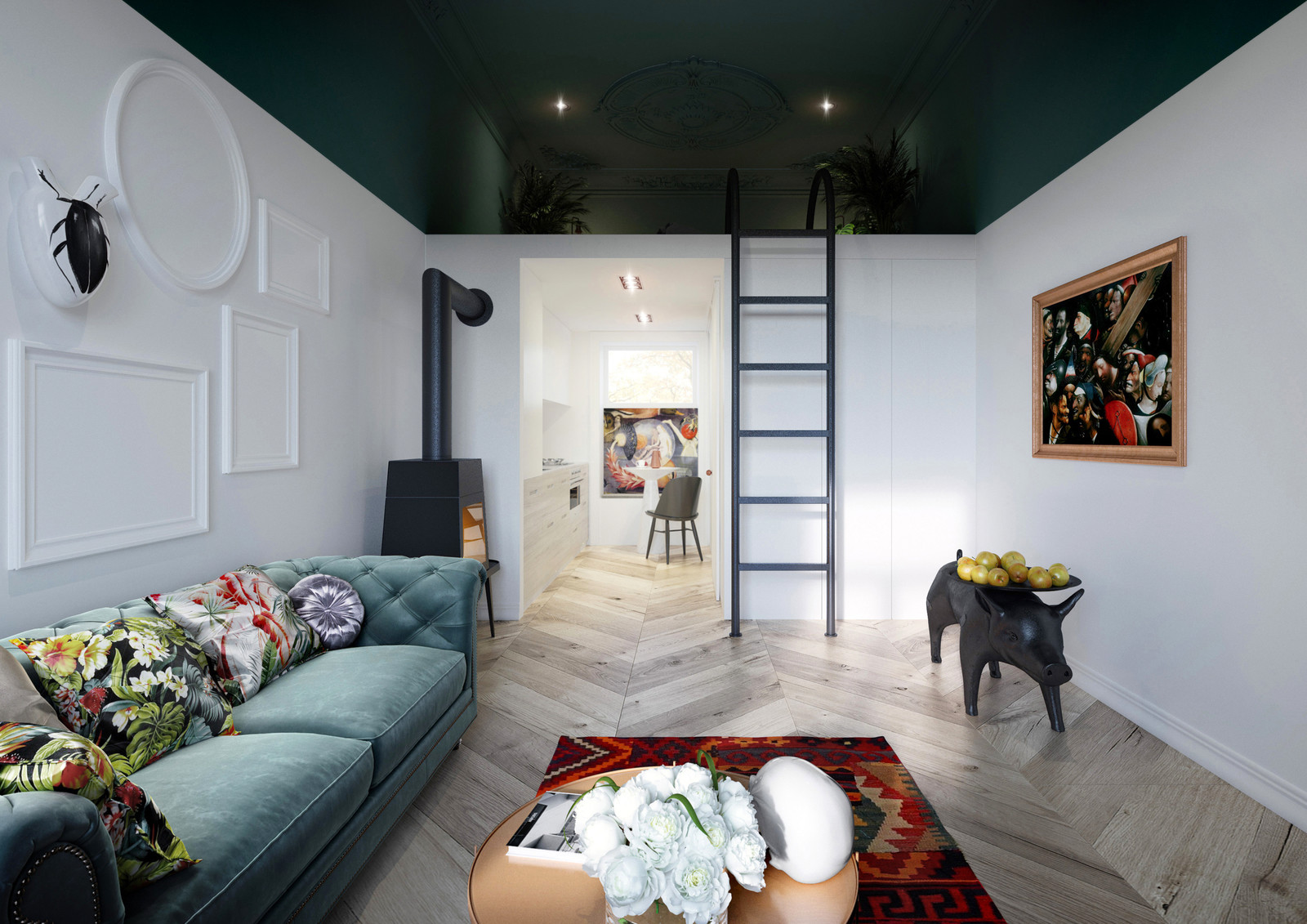 Small Apartment On Less Than 30 Sqm Adorable Home