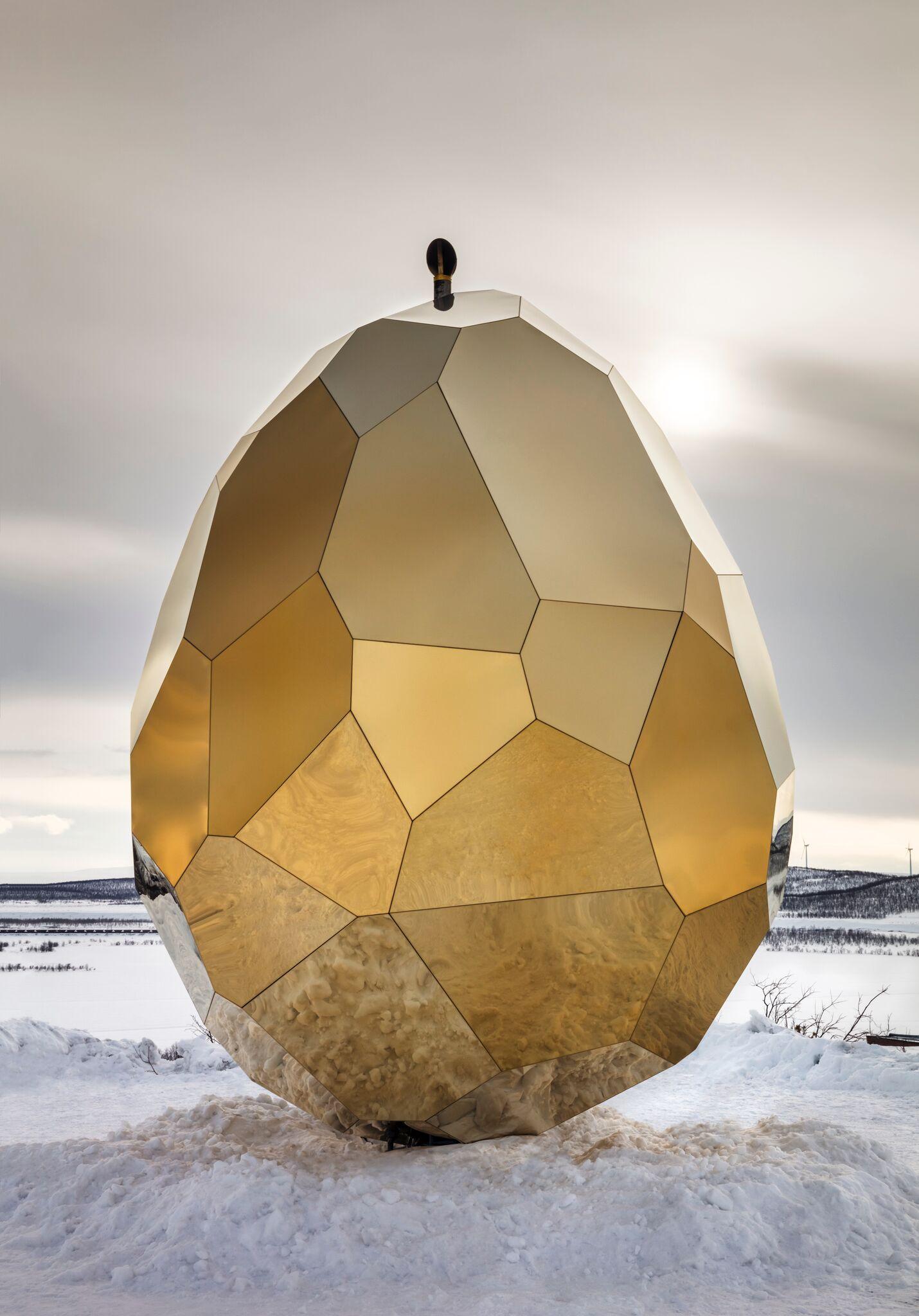 Solar egg installation