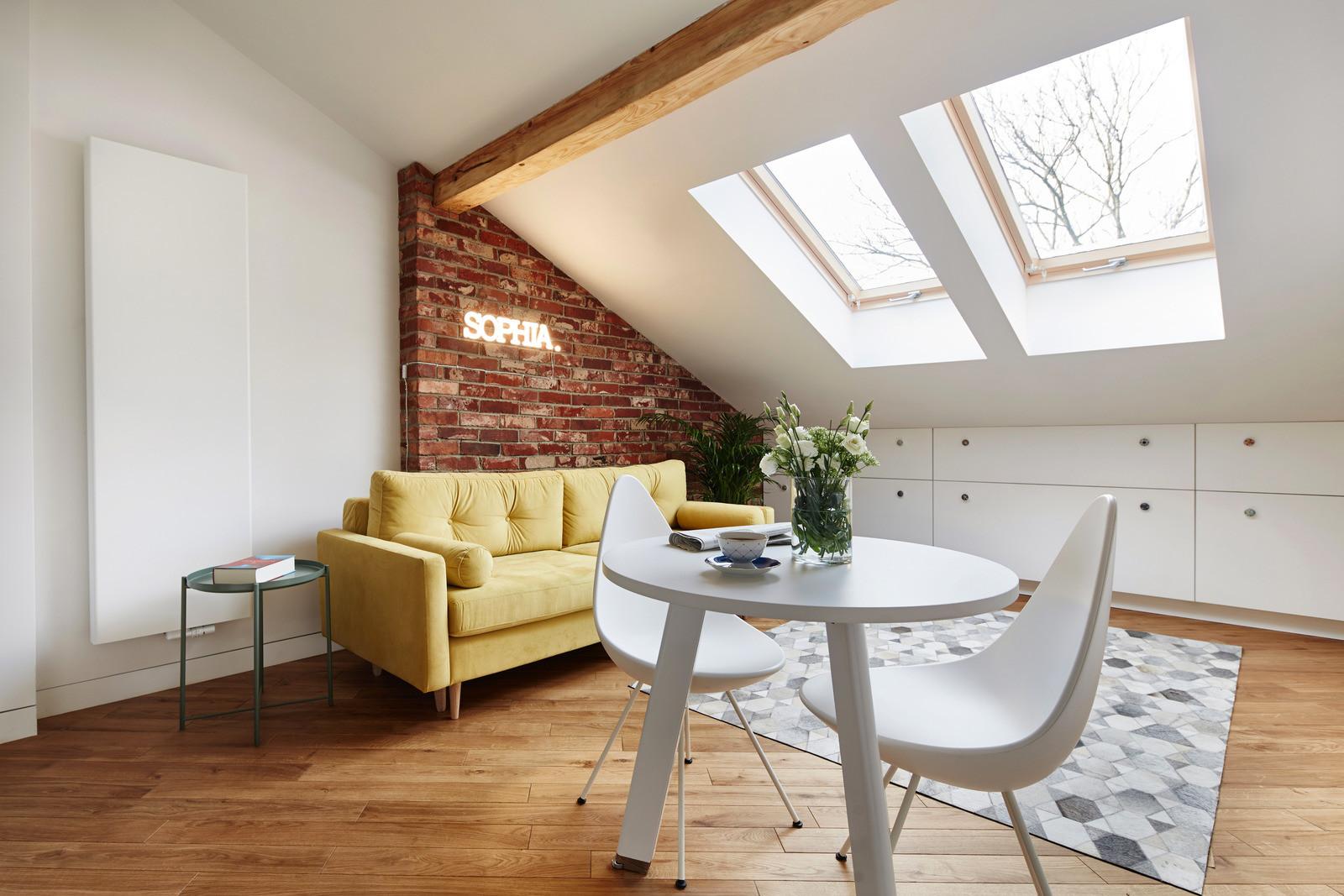 Small attic apartment