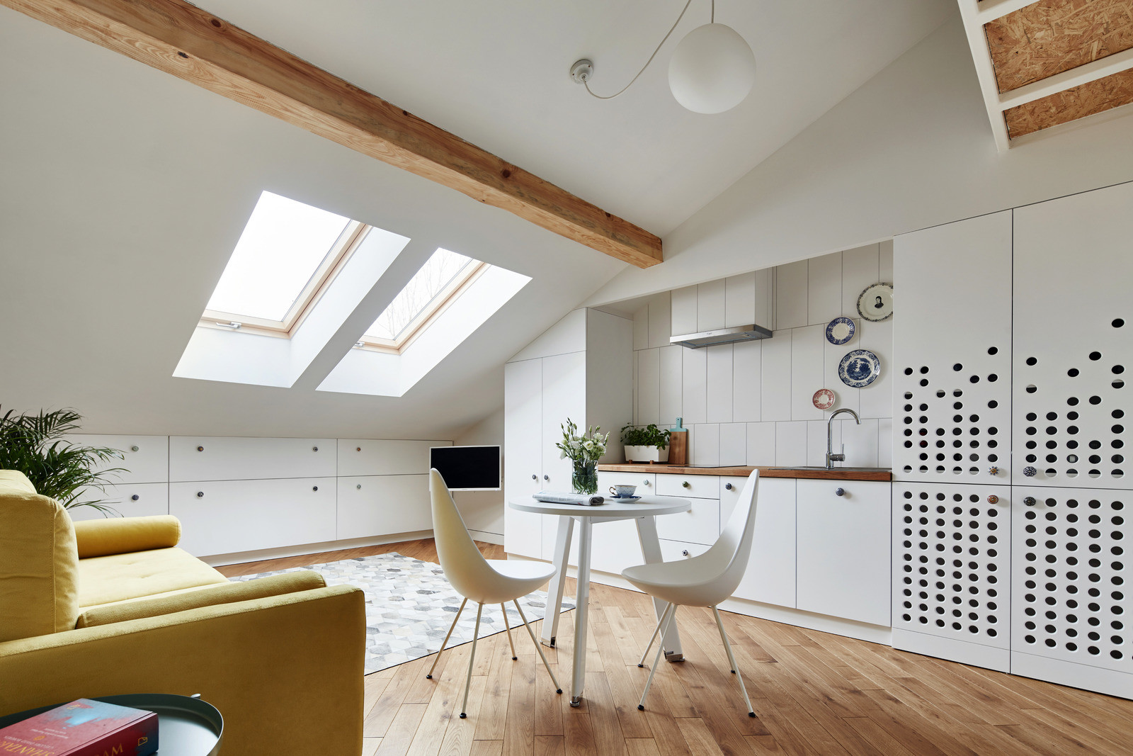 Small Attic Apartment On Only 19 Sqm Adorable Home