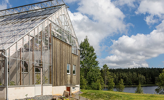 Sweden's Eco-Luxury Greenhouse Home