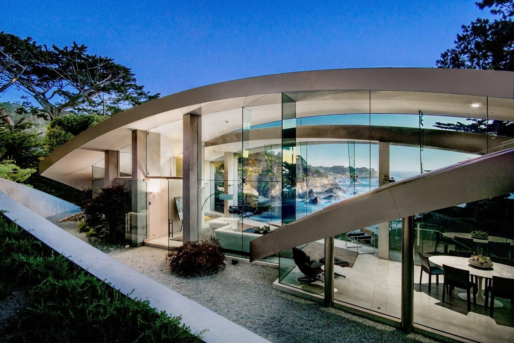 Amazing glass house