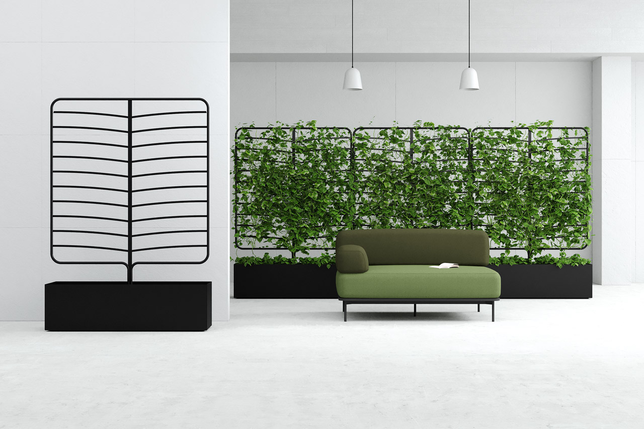 Botanical Planter Screens