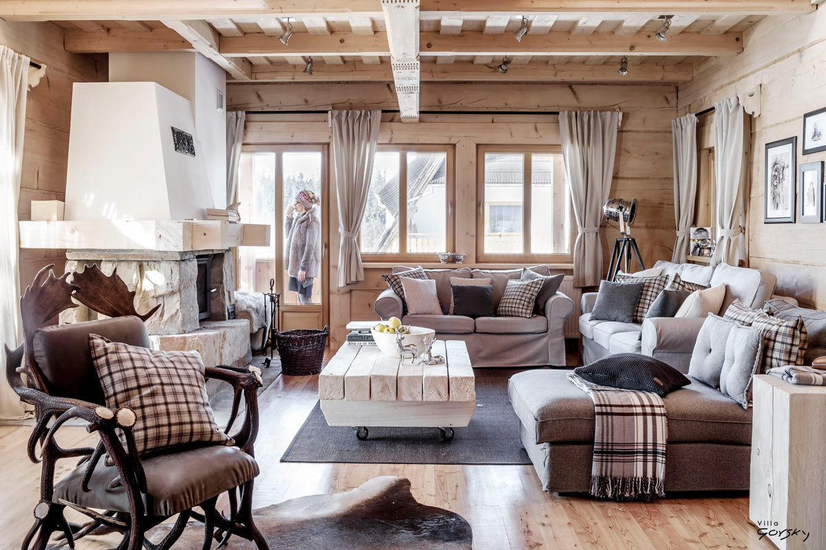Cozy winter chalet