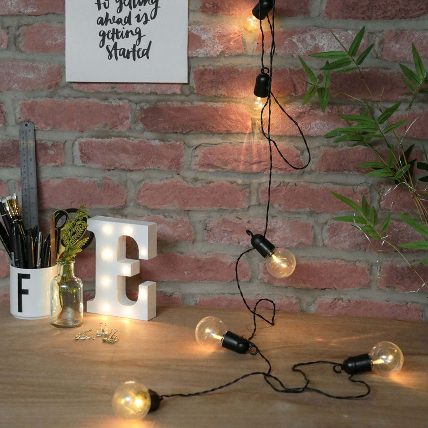 Modern string lights