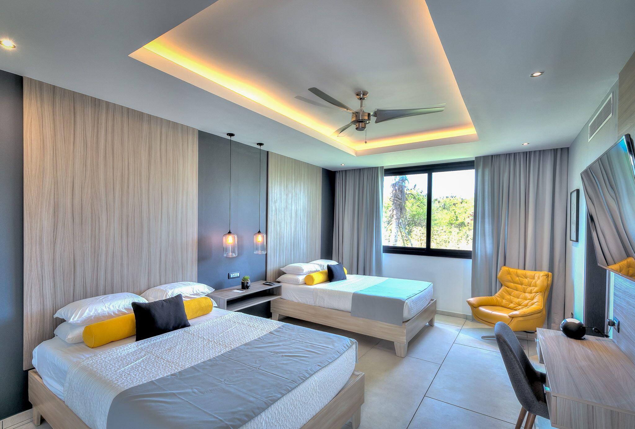 Yarari Royale twin bedroom