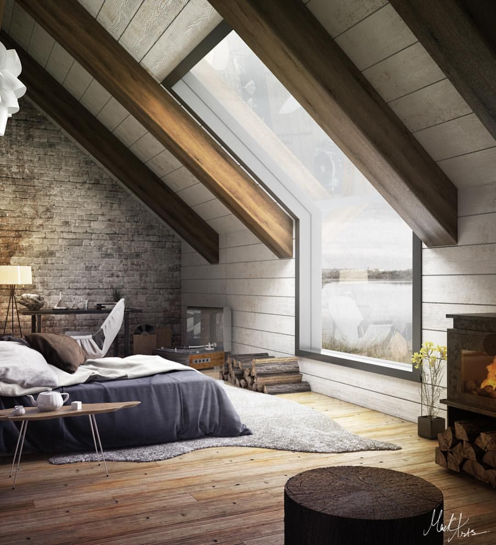 Attic bedroom designs - 3