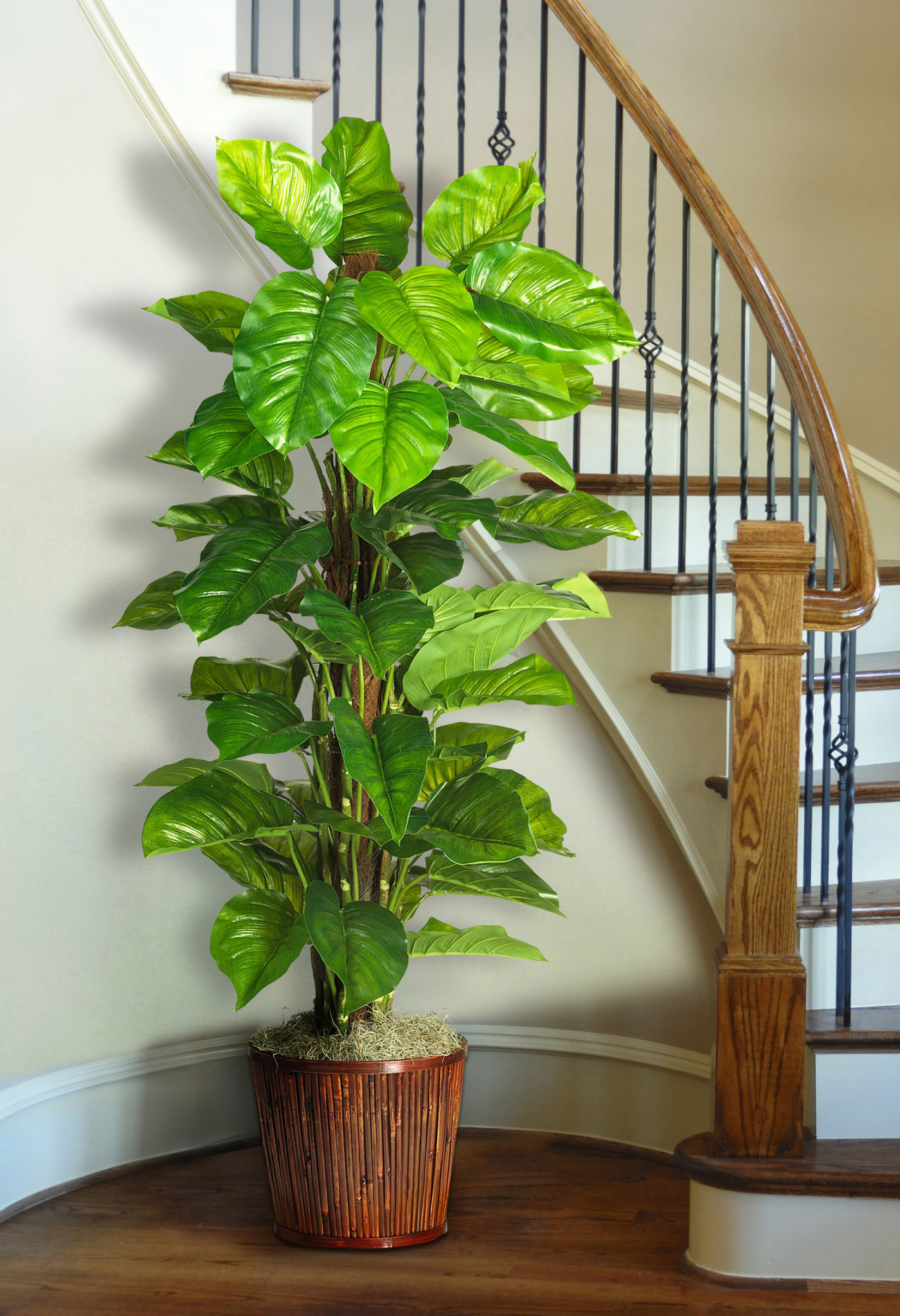 Decorating with artificial plants