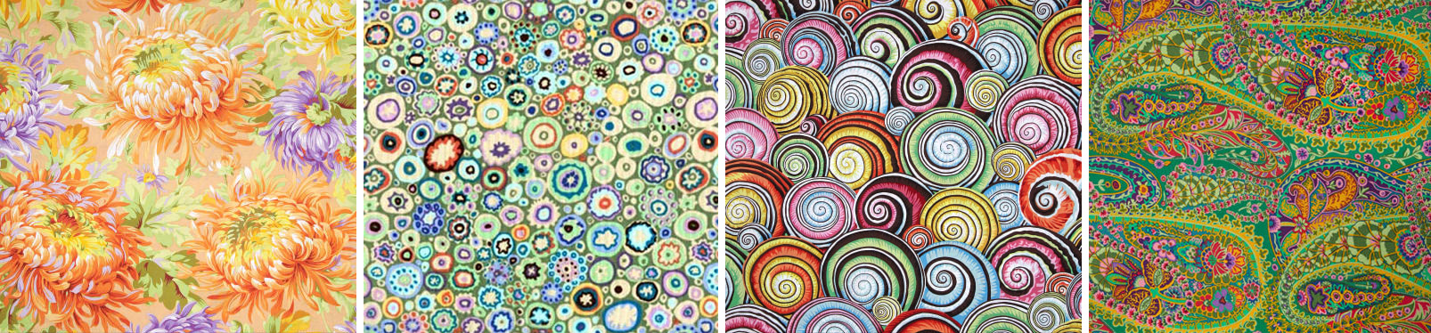 Quilting patterns by Kaffe Fassett