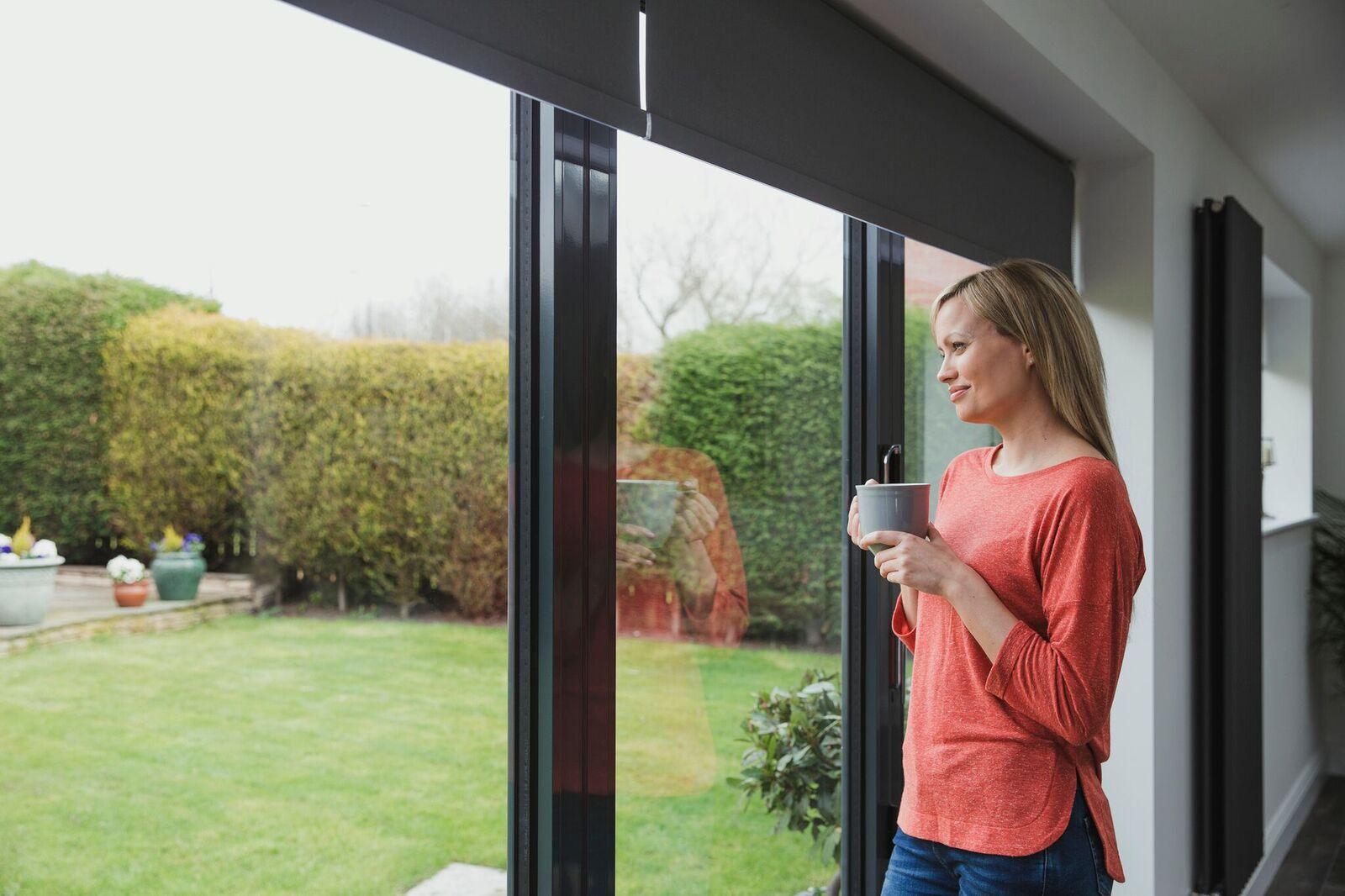 Patio glass doors