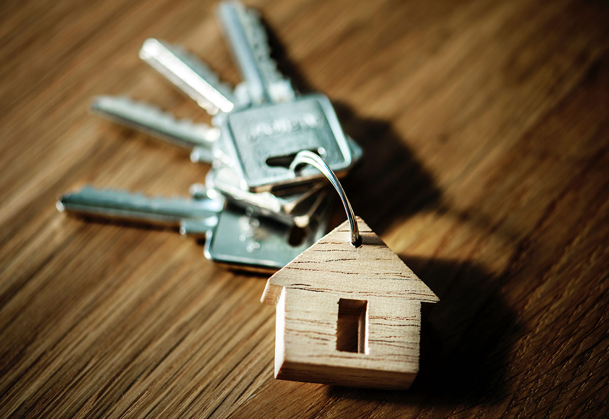 Keys for a new home