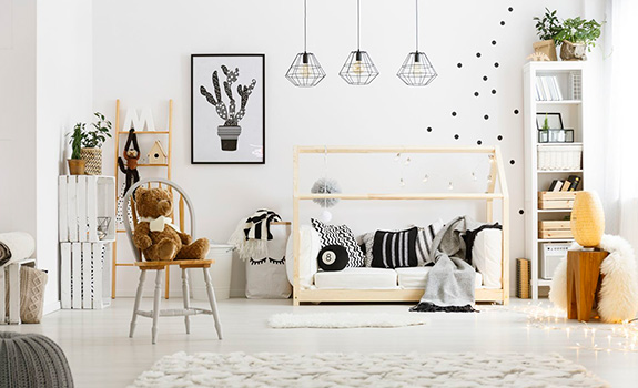 5 Inexpensive Ways to Decorate the Kids Room