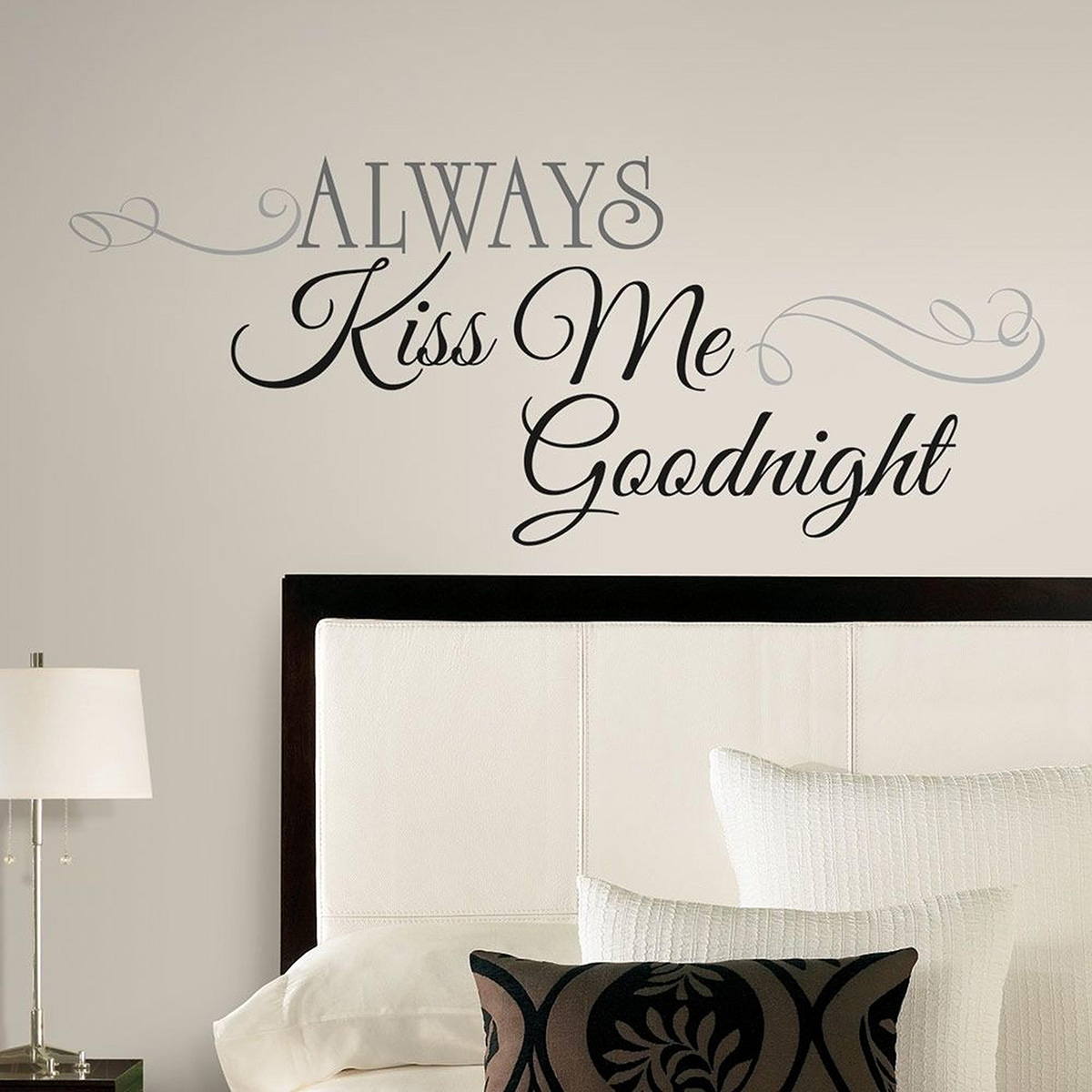 Always kiss me goodnight sticker