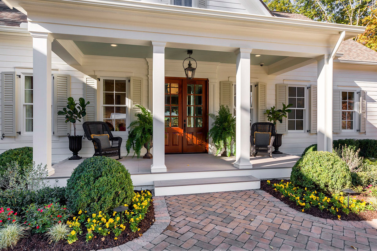 Beautiful porch design
