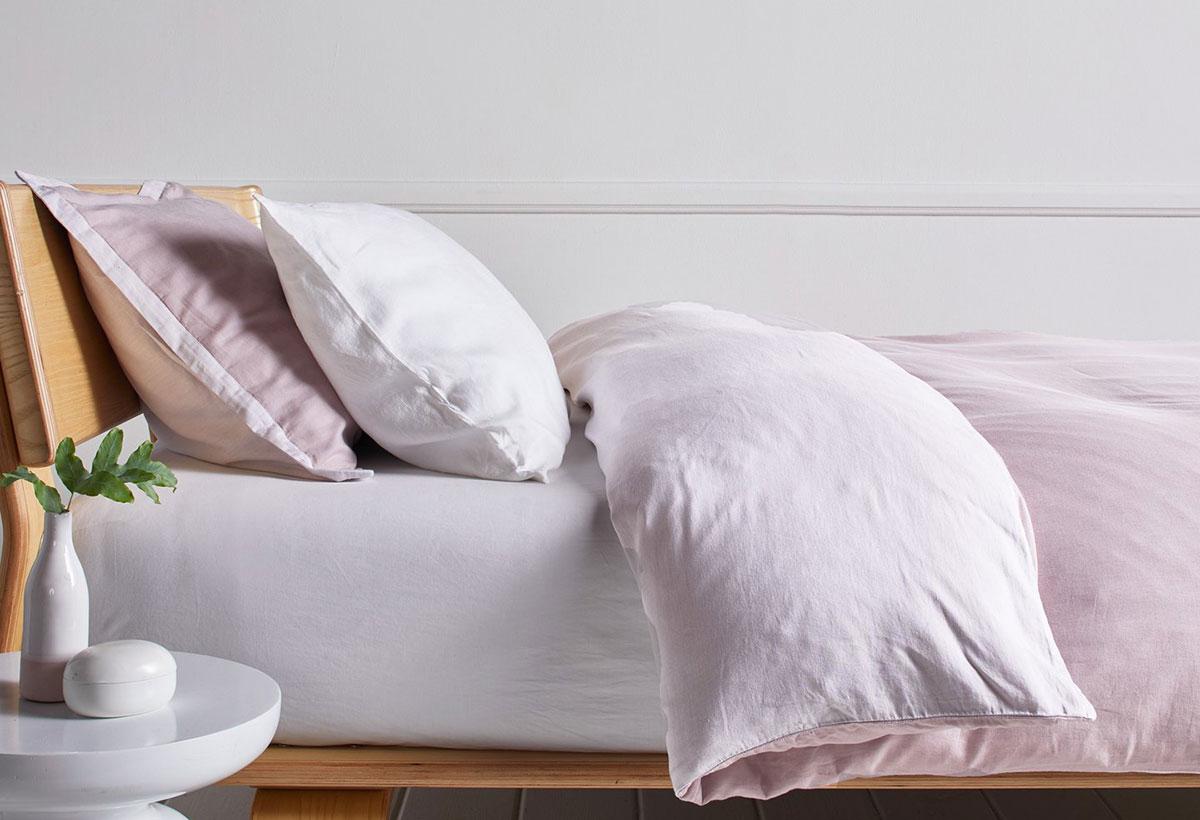 Rose cotton bedding