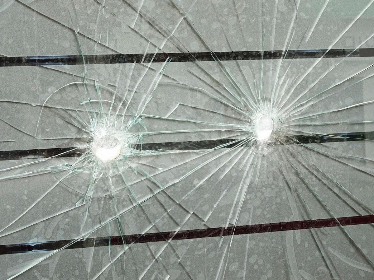 Bullet-proof window