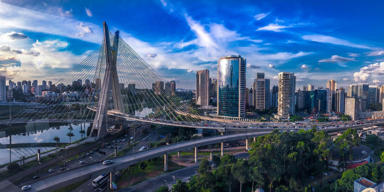 Modern city architecture