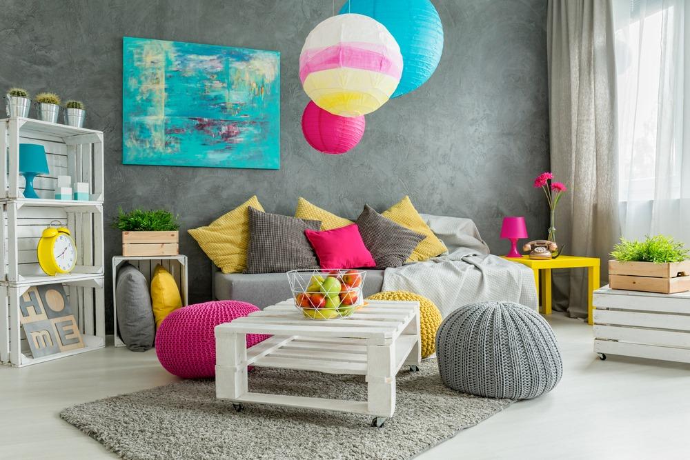 Colorful home interior