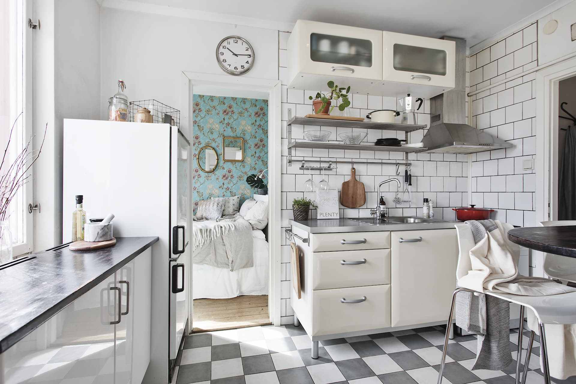 Kitchenette in a Swedish flat