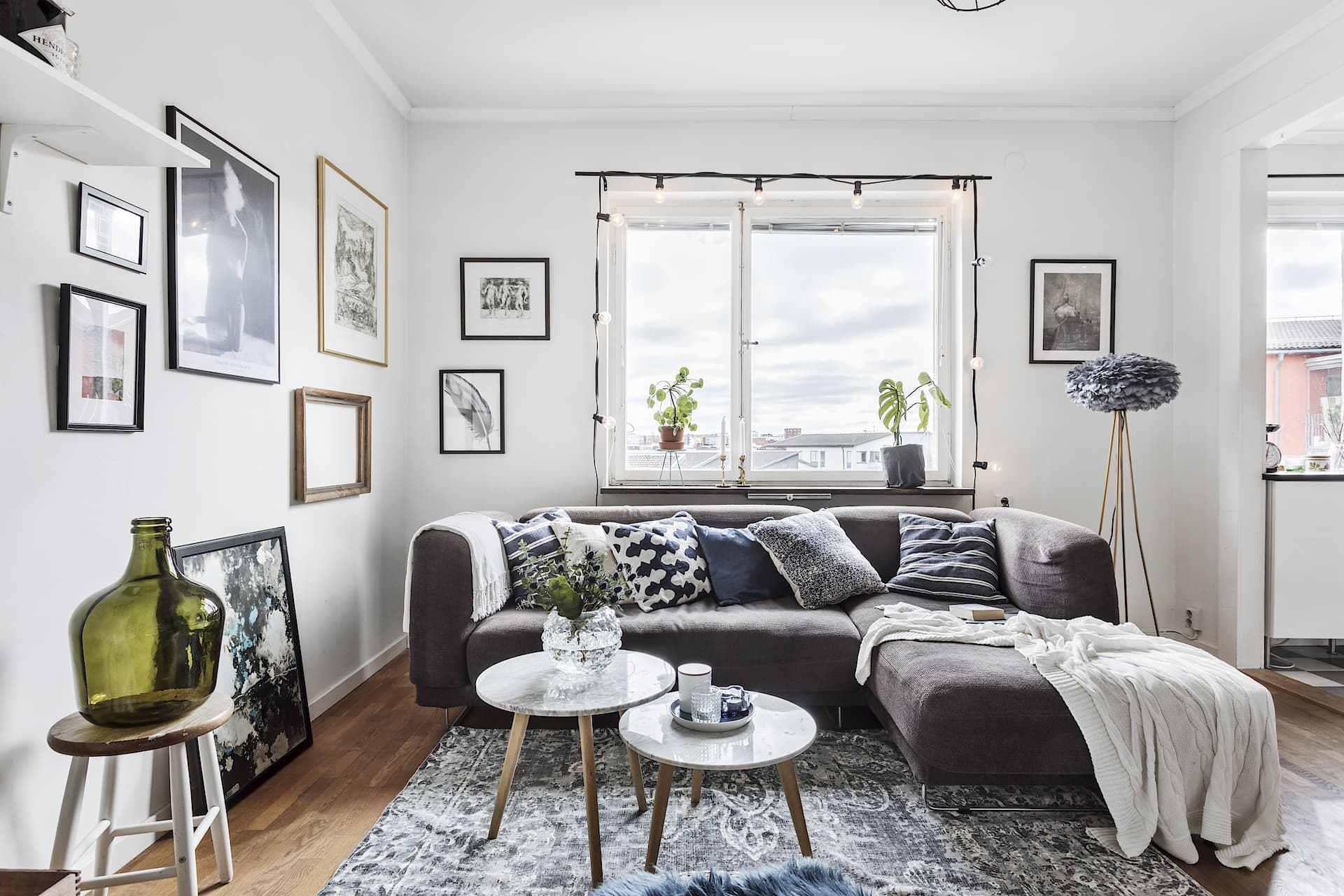 Scanvinavian living room