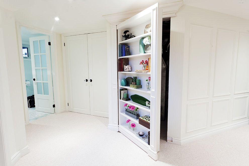 Storage closet doors