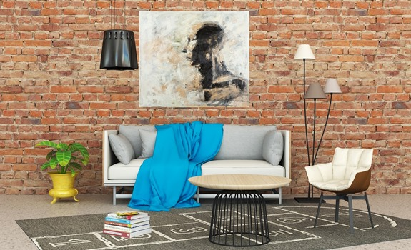 Custom Paintings in Home Décor